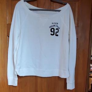 Abercrombie and Fitch lightweight sweatshirt. Sz L